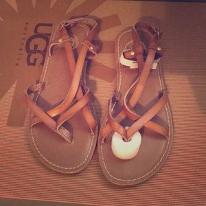 Scrappy sandals